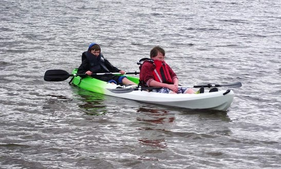 Double Kayak Hire In Wales, United Kingdom