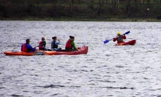 Triple Kayak Hire In Wales, United Kingdom