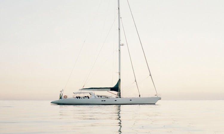 """99ft """"Susanne Af Stockholm"""" Sailing Yacht In Barcelona, Spain"""
