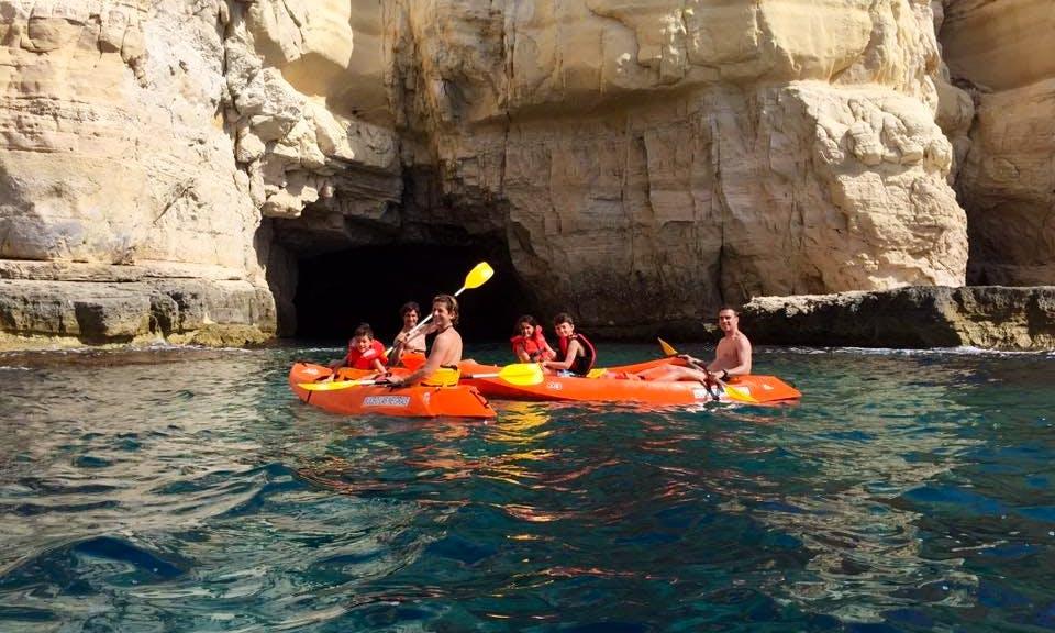 Single Kayak Rental in Las Negras, Spain