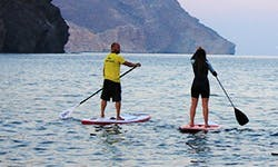 Enjoy Stand Up Paddleboarding in Las Negras