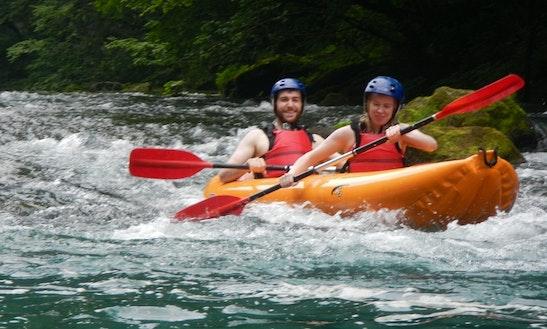 Kayak Safari On River Mrežnica In Slunj, Croatia