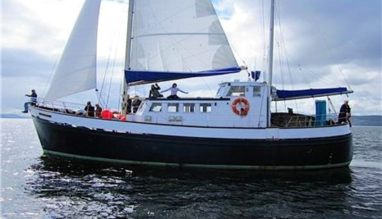 Experience Hair Raising Hebridean Scottish Cruises Aboard 54' Sailing Ketch