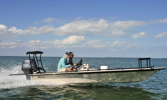 17ft Maverick Mirage Flat Fishing In Summerland Key, Florida