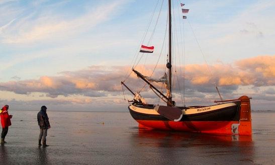 Charter 38' Wellekom Sloop In Woudsend, Netherlands