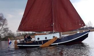Rent 25' Lady Lina Sloop in Woudsend, Netherlands