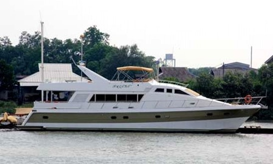 Charter A 75' Power Mega Yacht In Selangor, Malaysia