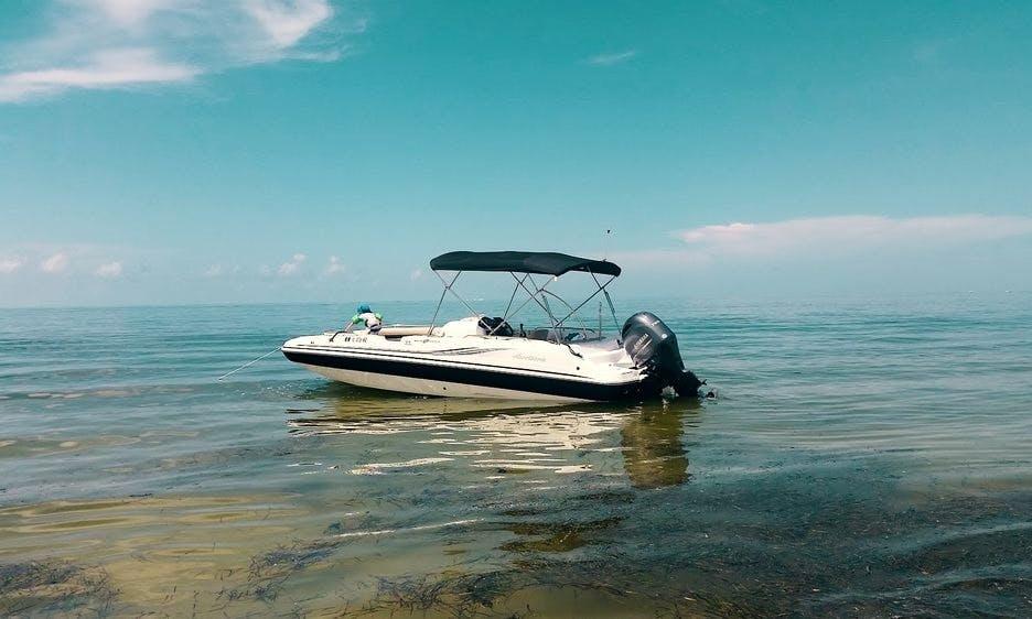 23' Hurricane Deck Boat in Cape Coral, Florida