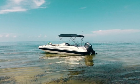 23' Hurricane Deck Boat In Cape Coral, Florida