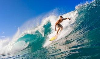 Enjoy Surf Lessons and Rental in Donostia, Euskadi