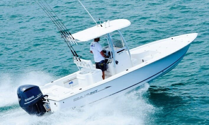 Enjoy Fishing on 24' Sea Hunt Center Console in Summerland Key, Florida