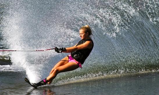 Enjoy Water Skiing In Eilat, Israel