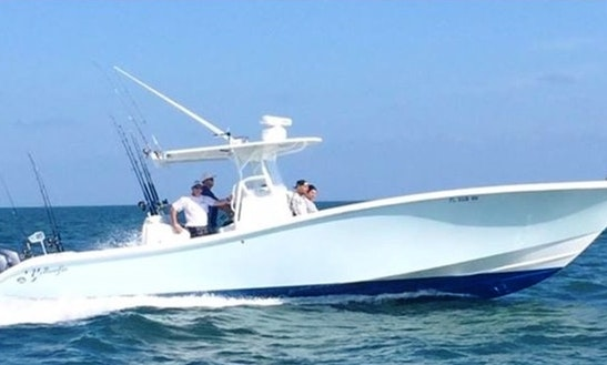 Charter 36ft Yellowfin Center Console In Marathon, Florida
