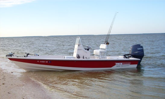 Fishing Charter On 22' Pathfinder Center Console In Everglades, Florida