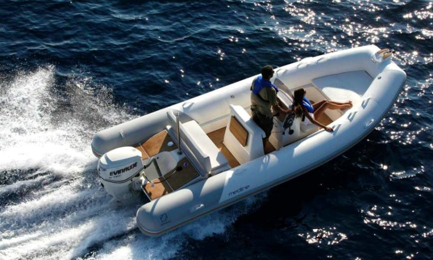 Rent 20' Rigid Inflatable Boat in Palma, Spain