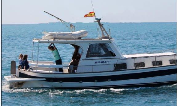 Enjoy Fishing in Palma, Spain on 44' Fishing Boat
