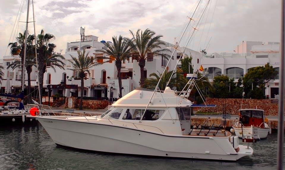 Enjoy Fishing in Palma, Spain on 41' Boat Rodman Yacht
