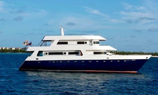 Charter 107' Power Mega Yacht In Kalhaidhoo, Maldives