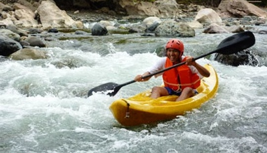 Rent A Single Kayak In Davao City, Philippines