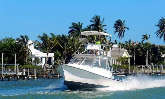 Fishing Charter On 31ft Sportfishing Boat In Naples, Florida