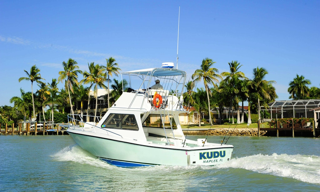 Deep sea fishing charter on 43ft mv kudu boat in naples for Fish naples fl