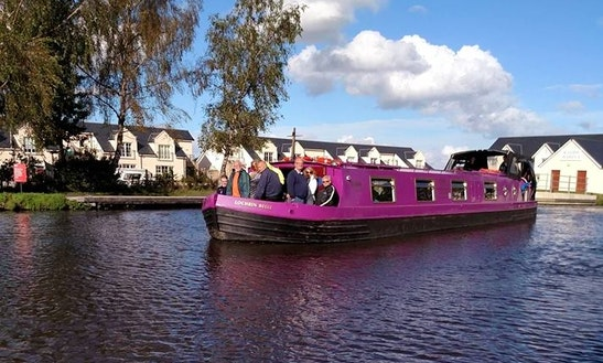 Charter 60' Canal Boat In Edinburgh, Scotland