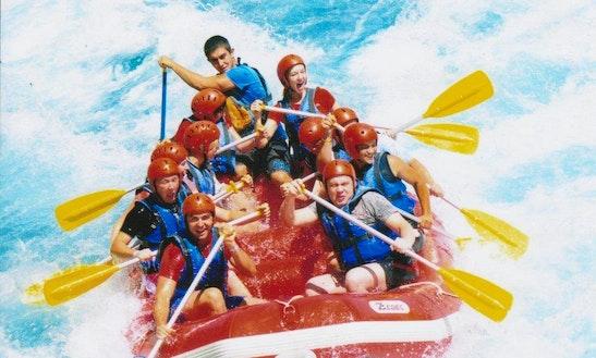 Enjoy Rafting Tours In Bozyaka, Antalya