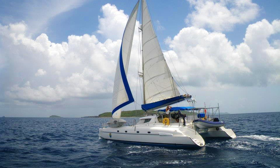 """Crewed Yacht Charters on """"Bluescape"""" in the Caribbean"""