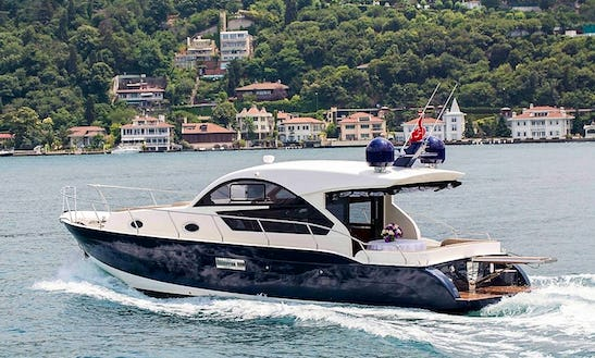 Elegant And Entertaining 10 Person Motor Yacht For Charter In İstanbul
