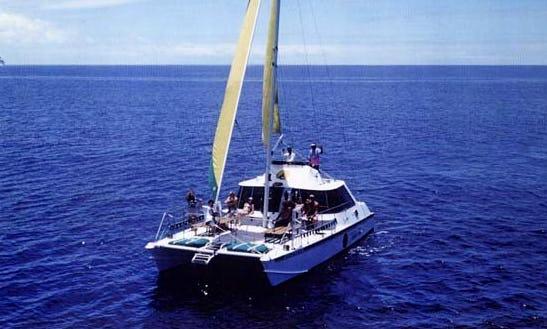 42' Sailing Catamaran Charter In Honolulu, Hawaii