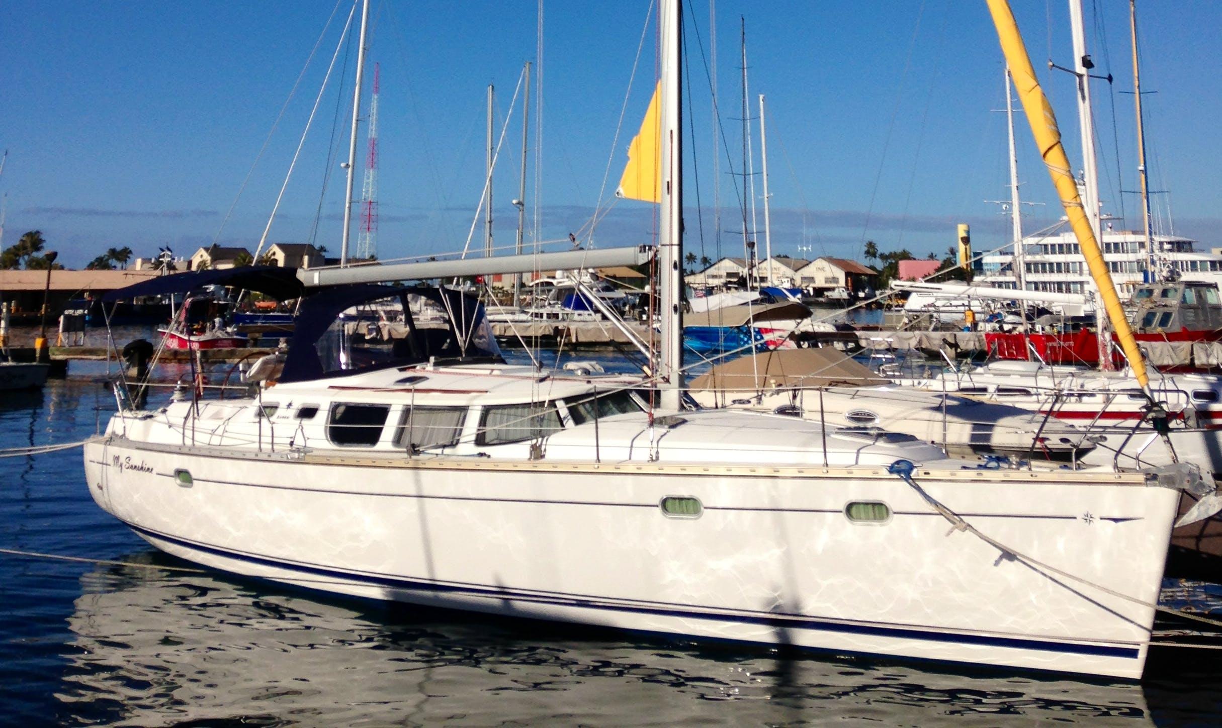 43' Jeanneau Cruising Monohull Charter in Honolulu