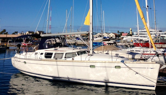 43' Jeanneau Cruising Monohull Charter In Honolulu