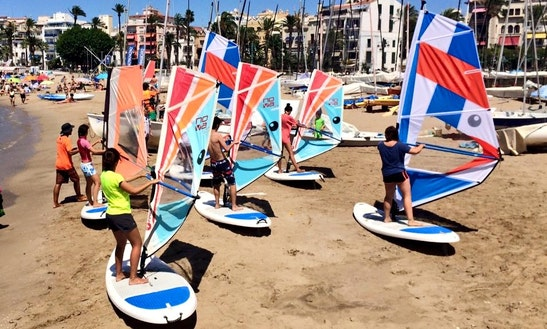 Enjoy Windsurfing Courses In Sitges, Catalunya