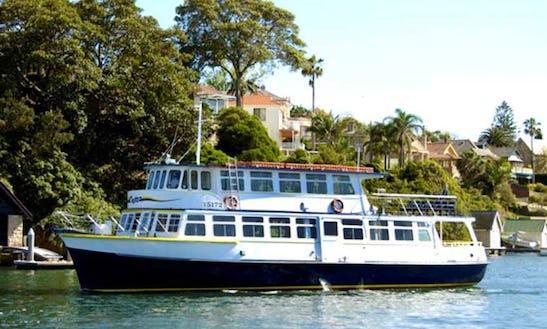 Enjoy Sydney, New South Wales On 60' Passenger Boat