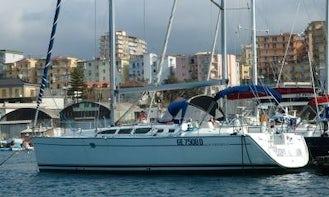 Charter 43' Sun Odyssey Cruising Monohull in Napoli, Campania