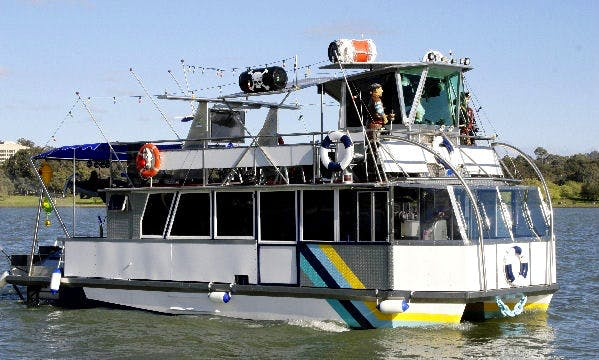 "Lake Cruises or Pirate Party Trip aboard the ""Maid Marion"" Power Catamaran"