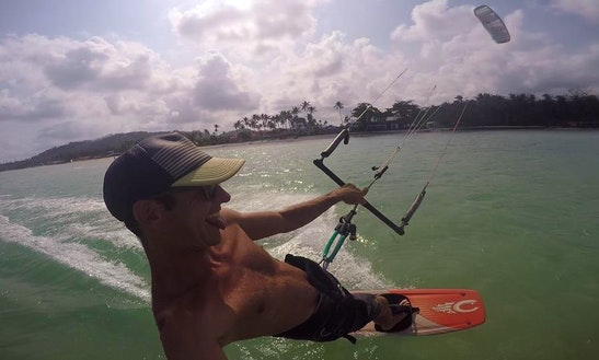 Enjoy Kitesurfing Lessons In Ko Samui, Thailand