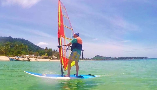 Add Another Watersports Experience! Learn To Windsurfing In Ko Samui, Thailand