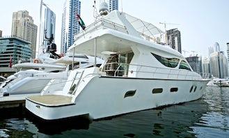 Charter 80' Luxury Power Mega Yacht In Dubai, UAE