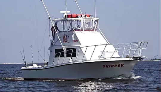 Fishing Charter In Biloxi, Mississippi With Captain Frank