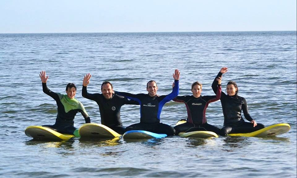 Private Surf Lessons in Charleston, South Carolina