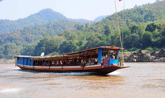 Enjoy Mekong River Cruises in Laos on Canal Boat