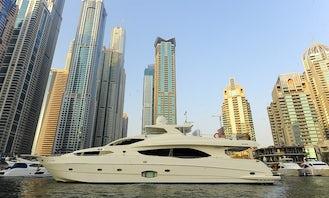 Cruise the Fantastic Arabian Gulf Aboard a 50 Person Power Mega Yacht