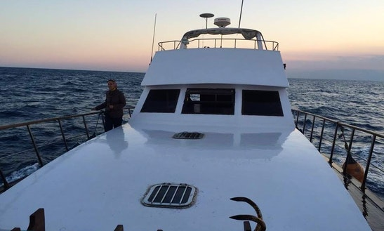 Motor Yacht Rental, Fishing Charter