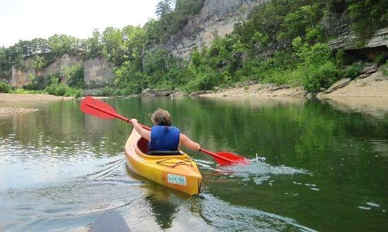 Enjoy Kayak Rental on Buffalo River, Arkansas