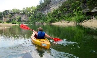 Enjoy Kayak Rental on Buffalo River, Arkansas