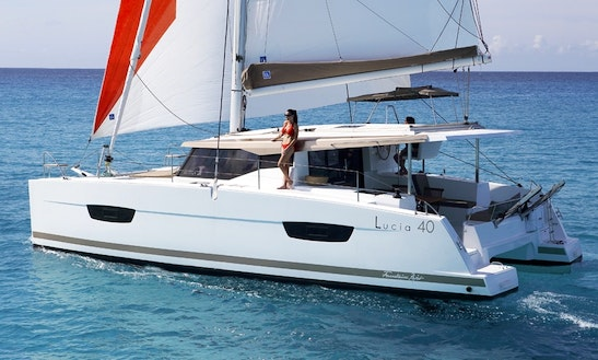 Charter Fountaine Pajot Lucia 40 Cruising Catamaran In Palamós, Spain