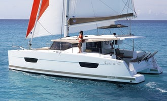 Charter Fountaine Pajot Lucia 40 Cruising Catamaran In Palamós, Spain