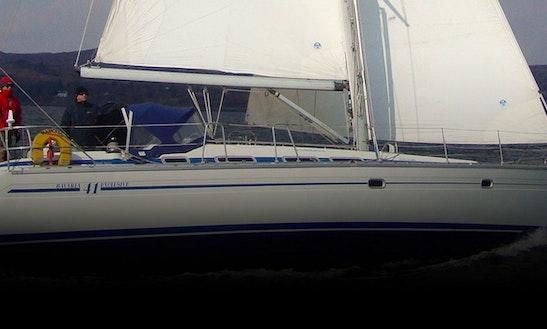 Charter 41' Cruising Monohull In Badachro, Scotland