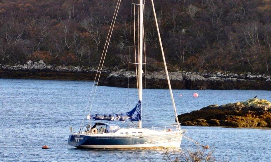Charter 42' Cruising Monohull in Badachro, Scotland